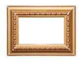 Golden picture frame — Stock Photo