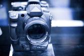 Modern camera — Stock Photo