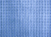Blue opaque glass texture — Fotografia Stock