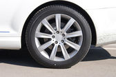 Car wheel front view — Stock Photo