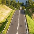 Road on a hill — Stock Photo