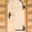 New wooden door — Stock Photo