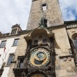 Famous old clock on a tower - 图库照片
