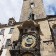 Famous old clock on a tower — Stok fotoğraf