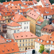 Foto Stock: City roofs