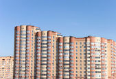 Modern buildings Moscow — Stock Photo