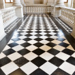 Royalty-Free Stock Photo: Chequer floor