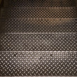 Metallic stairs — Stock Photo