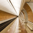 moderne metrostation — Stockfoto