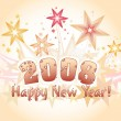 Happy new year 2008 - Foto de Stock  