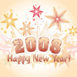 Happy new year 2008 — Stockfoto