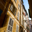 Typical Nice narrow street - Stock Photo