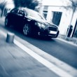 Fast car motion — Photo