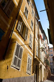 Typical Nice narrow street — Stock Photo