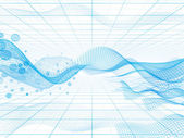 Abstract hi-tech background — Stock Photo