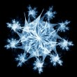 Abstract snowflake — Stock Photo