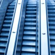Underground escalator — Stock Photo #1715054