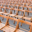 Rows of chairs — Stock Photo #1715063