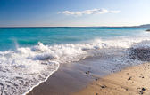 Mediterranean sea coast — Stock Photo