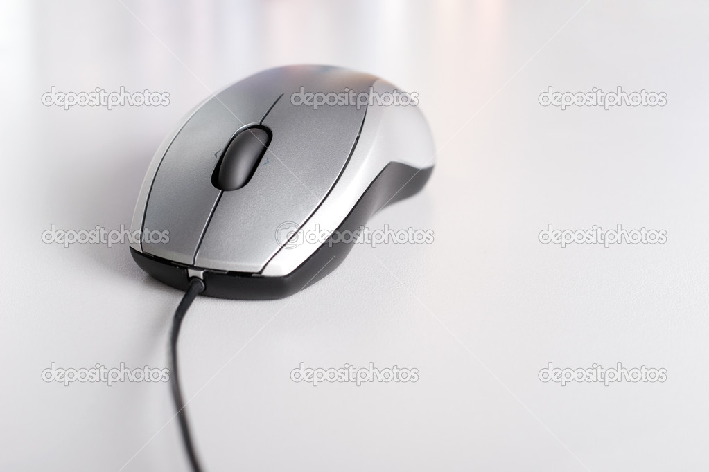 电脑加鼠标 矢量