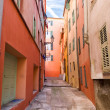 Italian town narrow street - Stock Photo