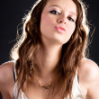 Royalty-Free Stock Photo: Young sexy woman glamour portrait