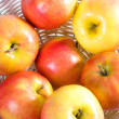 Ripe apples in a bowl - 