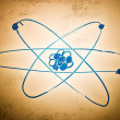 Atomic structure - Stock Photo