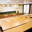 Big physics lecture hall — Stock Photo