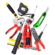 Big set of construction tools - Stock Photo