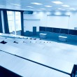 Stock Photo: Big physics lecture hall blue tint