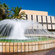 City fountain in Nice France — Stock Photo