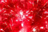 Bright red firework — Stock Photo