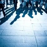 Shadows on a ground — Stock Photo #1751911