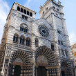 Old cathedral in Genoa Italy — Stock Photo