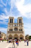 Notre Dam de Paris — 图库照片