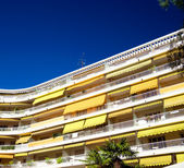 Beautiful hotel in Nice France — Stock Photo