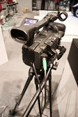 Professional video camera on exhibotion — Stock Photo