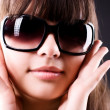 Young woman in sunglasses portrait — Stock Photo #1801271