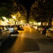 Night street — Stockfoto