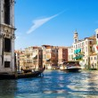 Venice Grand Canal view - Stock Photo