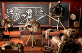 Lezione di fotografia — Foto Stock