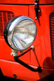 Antique headlight — Stock Photo