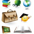 Educational Vector Elements - Stock Vector