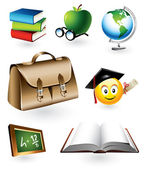 Educational Vector Elements — Stock Vector