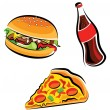 Royalty-Free Stock Vector Image: Fast food