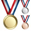 Royalty-Free Stock Vector Image: Medals