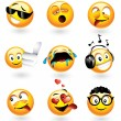 Постер, плакат: Various emoticons