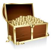 Baú do tesouro — Vetorial Stock