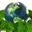 Royalty-Free Stock Photo: 3D earth